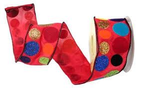 <b>Лента упаковочная WINTER</b> WINGS красная разноцветная ...