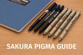 <b>Sakura Pigma Pens</b>: A Comprehensive Guide | JetPens