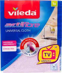 <b>Салфетки</b> для уборки <b>Vileda</b>, Микрофибра - купить в интернет ...