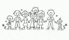 Image result for big family clipart
