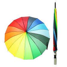 """<b>Зонт женский зонт</b>-<b>трость</b> """"<b>радуга</b>"""", полуавтоматический, r=46см ..."""