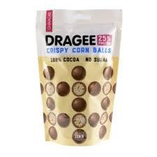 Протеиновое драже ТМ Chikalab <b>Шарики кукурузные</b> в <b>шоколаде</b> ...