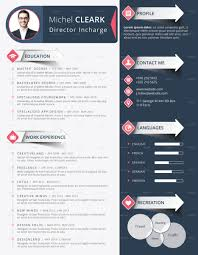 creative infographic resume templates graphic cloud corporate infographic resume cv modern template