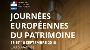 MAINE-ET-LOIRE JOURNÉES DU PATRIMOINE 2018 (programme des visites) - Unidivers