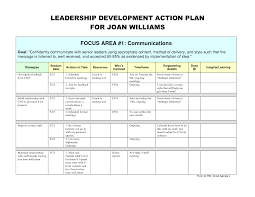 best photos of leadership action plan template personal leadership development action plan sample