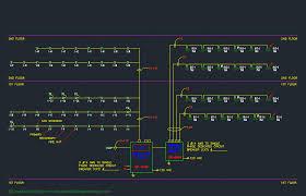 portfolio   douglas drafting and designriser diagram