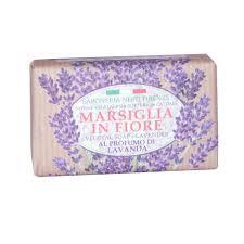 Купить лавандовое <b>мыло Marsiglia in Fiore</b>. Итальнское мыло ...