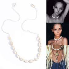 Fashion Rope Chain Boho Sea Shell Conch Pendant Natural ... - Vova