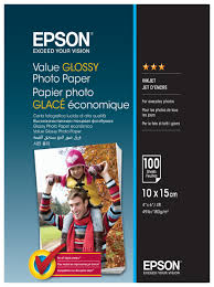 <b>Бумага</b> A6 100 шт. <b>Epson Value Glossy</b> Photo <b>Paper</b> — купить по ...