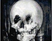 Charles Allan Gilbert All is Vanity Vanitas Skull <b>Painting Counted</b> ...