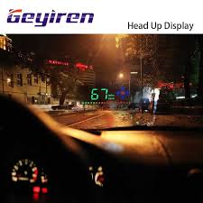 <b>GEYIREN</b> New M8 <b>Head</b> Up Display LED Display <b>HUD OBD</b> II Car ...