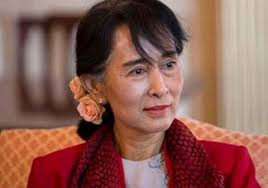 Image result for Myanmar's Foreign Minister, Aung San Suu Kyi
