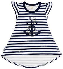 <b>Платье</b> для девочки <b>Lucky</b> Child Лазурный берег, цвет: белый ...