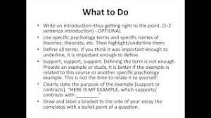 ap psychology essay questions this is your basic instructions for how to write your free response questions for section ii of the ap psychology exam these are the strategies that have