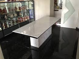 Granite Dining Room Tables Granite Slab Dining Table Random Photo Gallery Of Granite Dining