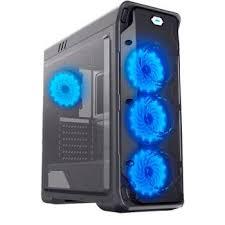 ПК <b>корпус GameMax StarLight</b> Black Blue Mid-Tower, window, ATX ...