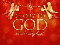 "Image result for ""Glory to God in the highest heaven,     and on earth peace to those on whom his favor rests."""