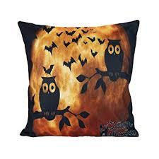 Buy MYEDO Fashion 1PC <b>Halloween Cartoon</b> Square Decorative ...