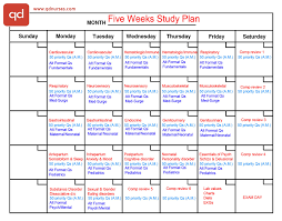 2 study plans you need to pass the nclex qd nurses five weeks plan