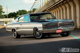 1966 dodge charger comeback kid hot rod network 1966 dodge charger front three quarter1