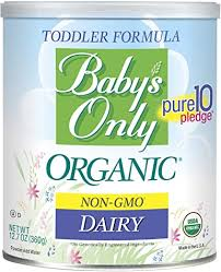 <b>Baby's Only Organic</b> Dairy Formula, 12.7 Ounce (Pack of 6): Amazon ...