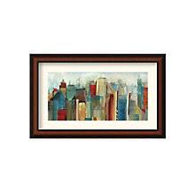 framed art print sunlight city by tom reeves 8801428 artwork for the office