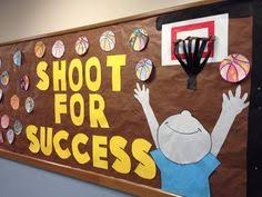 good books the ojays and bulletin boards on pinterest fun bulletin board for a sports themed classroom or for pe or gym class under the basketballs there are student written essays more