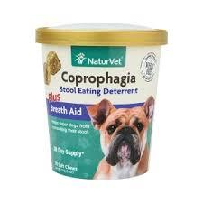 <b>Coprophagia Stool Eating Deterrent</b> Plus Breath Aid Soft Chews
