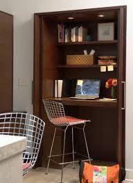 home office closet ideas small apartment design ideas create a home office in a closet the bedroominspiring high black vinyl executive office