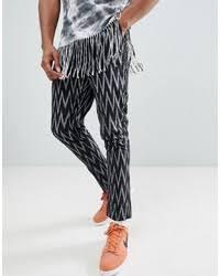 Купить <b>брюки чинос с геометрическим</b> рисунком - модные ...