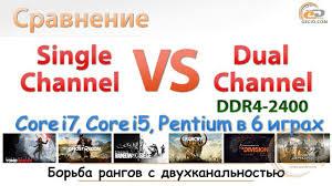 Single vs Dual Channel DDR4-2400: углубленное сравнение на ...