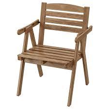Купить ФАЛЬХОЛЬМЕН <b>Садовое кресло</b>, серо-коричневый ...