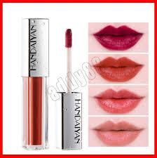 <b>HANDAIYAN</b> Fashion <b>Color</b> Water Drop Velvet Matte Lip Gloss Lip ...