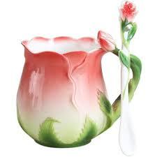 <b>Bone China</b> Mugs with Tray Spoon Sets in 2019 | China mugs, Tea ...