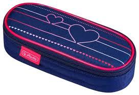 <b>Herlitz Пенал</b>-<b>косметичка Case</b> Heartbeat (50021178) — купить по ...