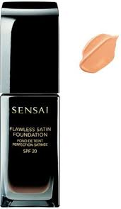 <b>Sensai Flawless Satin</b> Fluid <b>Foundation</b> NFS202 Ochre Beige 30ml ...