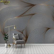 <b>beibehang Custom wallpaper</b> 3D modern minimalist Nordic abstract ...