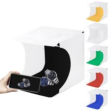 <b>PULUZ 20cm</b> Mini Photo LED Light Studio Box Photo Tent White ...