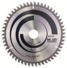 Циркулярный <b>диск 210х30мм</b> Multi Material зуб 54 <b>Bosch</b> ...