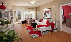 model living rooms: ralston courtyard apartment model contemporary living room