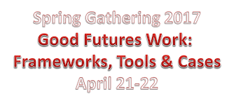 spring gathering more details preparing professional i am very excited to announce that christian crews laura schlehuber of kalypso foresight are going to take us through their systems scenarios approach