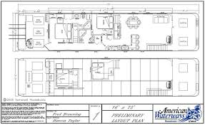 House Boat Floor Plans   Understanding the Nitty Gritty of House    Houseboat Design Plans