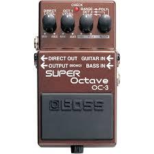 Купить Boss <b>Super Octave</b> OC-3 - гитарный эффект по лучшей ...