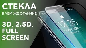 В чем же отличие стекол: 3D, 2D, Full Screen. Рассказываем на ...