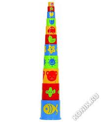 <b>Ведерко</b>-<b>пирамидка Gowi</b>, 11 пр. – Konik.ru. Лучшие <b>игрушки</b> в ...