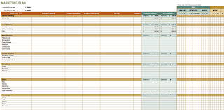 marketing plan templates for excel smartsheet marketing plan template excel