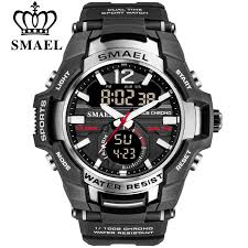 <b>SMAEL</b> 2020 <b>Men Watches</b> Fashion Sport Super Cool <b>Quartz</b> LED ...