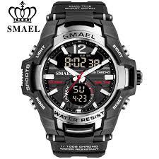 SMAEL 2020 <b>Men Watches</b> Fashion Sport Super Cool Quartz LED ...