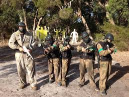 <b>Me and the boys</b>! - Picture of Delta Force Paintball, Muchea ...