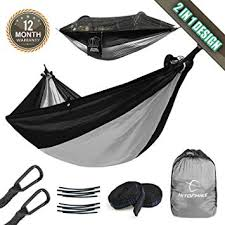 Hitorhike Camping Hammock with Mosquito Net ... - Amazon.com